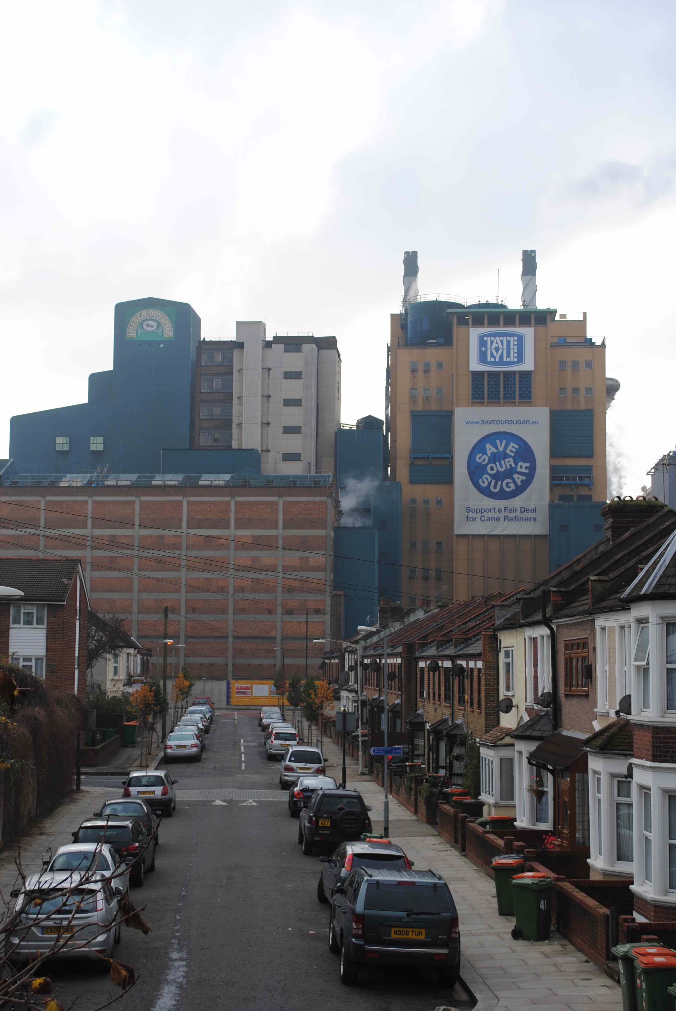 Thames Refinery Silvertown
