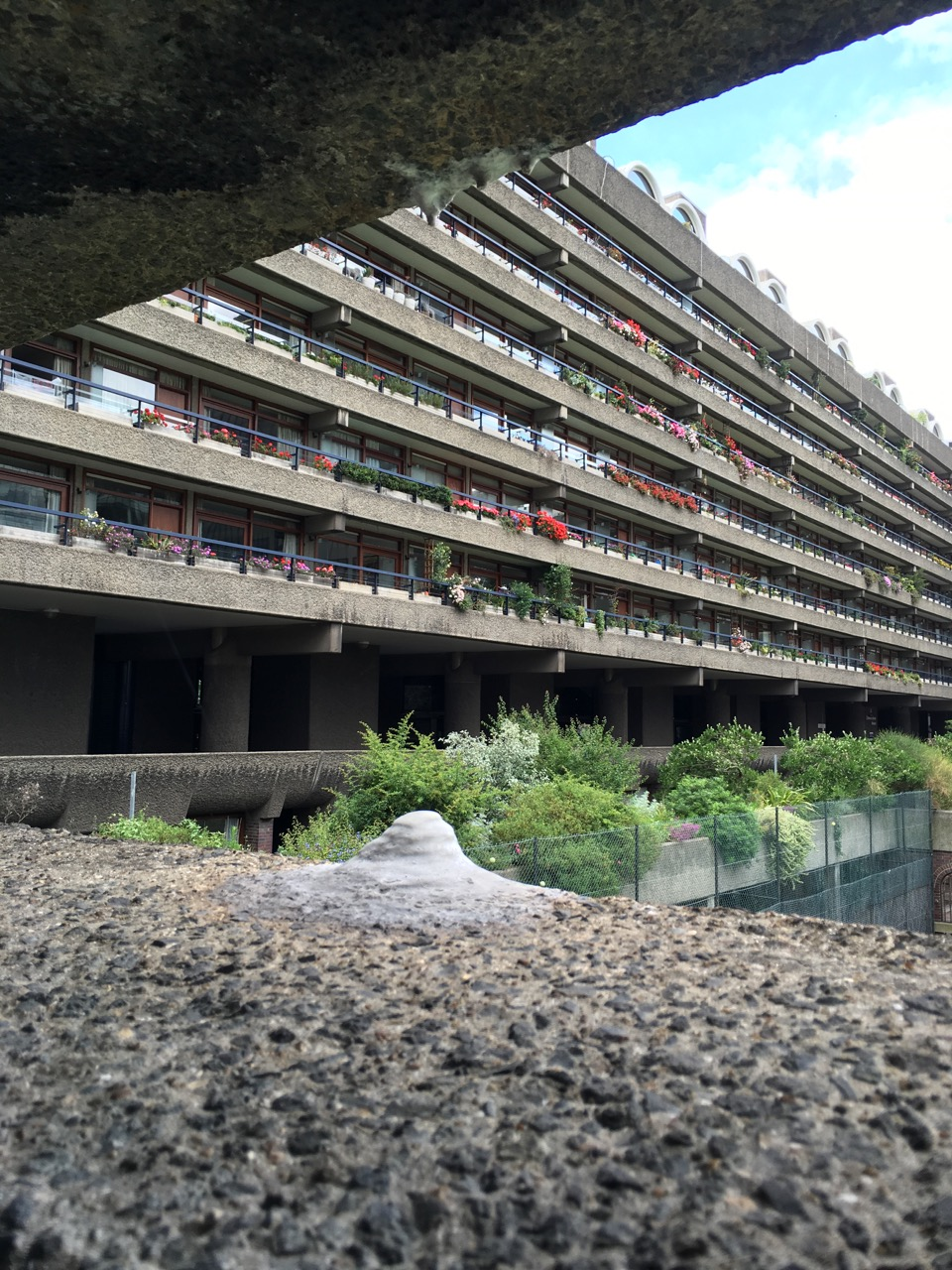 Barbican Estate calthemites